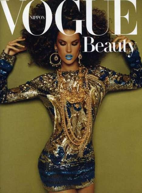 Metallic Beauty Editorials