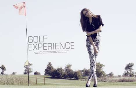 Hole-in-One Fashion Shoots