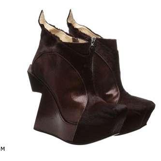 Oblong Wooden Heels