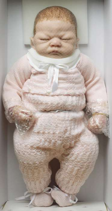 Eerie Infant Sculptures