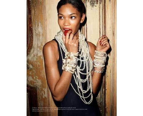 21 Fierce Chanel Iman Photoshoots