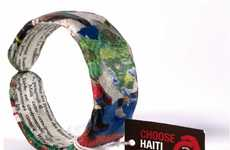 Recycled Charity Bracelets - The 'Choose Haiti' Initiative Raises Money for Earthquake Survivors