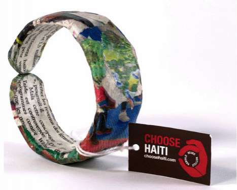 Recycled Charity Bracelets