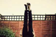 Topsy-Turvy Photoshoots - Stephen Morris Headstand Photography Shows Life Upside Down