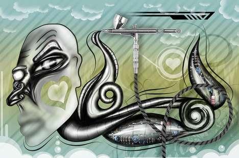 Vibrant Digital Artistry