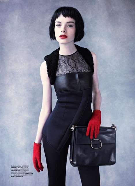 Gothic-Glam Fashion