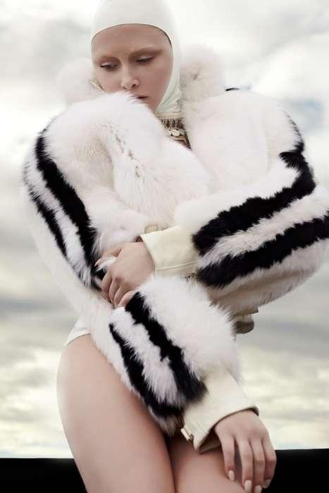 Furry Swim Fashion