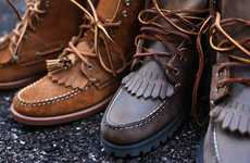 Tasseled Work Boots - This CultureShoq & Ronnie Fieg Collaboration Puts a Moccasin Spin on Boots