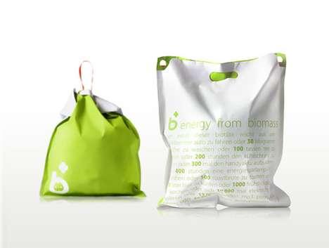 Informative Garbage Bags