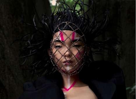 Futuristic Tribal Masks