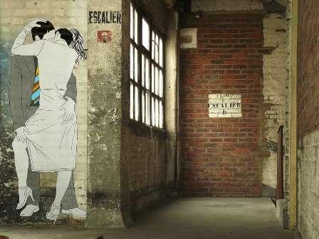 Cheeky Couple Graffiti