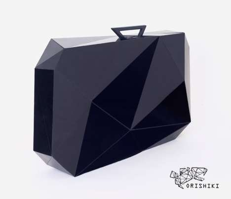 Origami-Inspired Luggage - The Orishiki Suitcase Folds Flat for Easy Storage