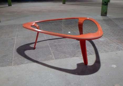 Red-Rimmed Furniture