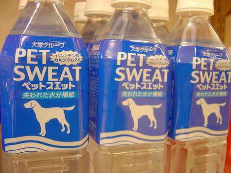 Dog Fitness Water - Pet Sweat is an Energy Drink for Dogs