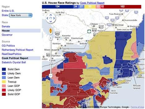 Interactive Voter Maps