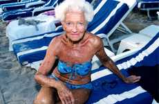Granny Glam Pictorials - Anna Skladmann Shoots Sizzling Portraitures of People of All Ages