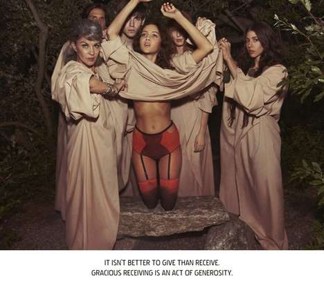 Haute Occult Campaigns - Tom Hines Photographs for the Lake & Stars Ritualize Campaign