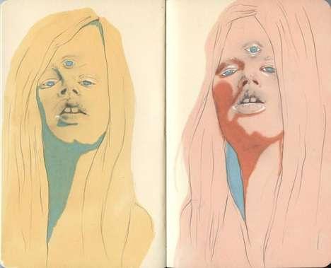 Three-Eyed Illustrations