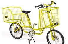 Shopping Cart Cycles - The Camioncyclette Bike Can Conveniently Carry a Lot of Cargo