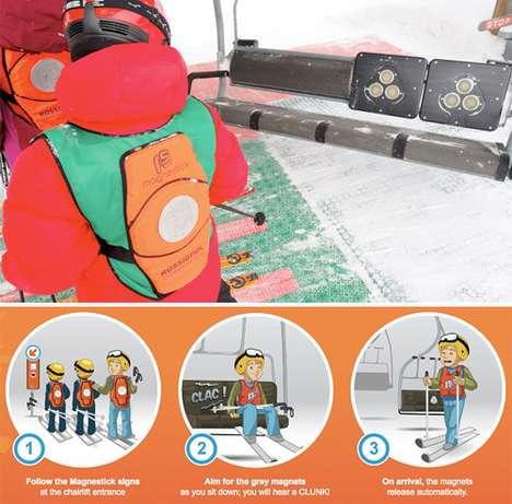 Ski Lift Safety Devices