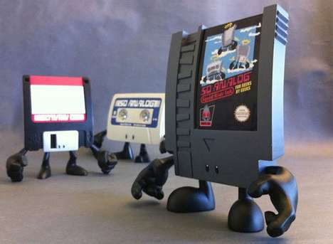Personified Retro Toys