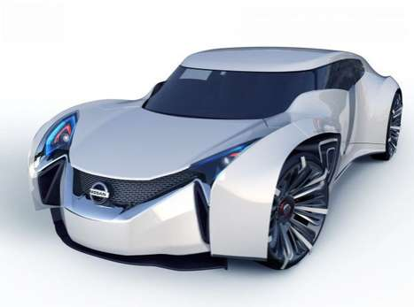 Sleek Eco Sedans - The Nissan Yuki-onna has Got a Very Attractive Design