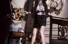 Ageless Style Collaborations - Lanvin and H and M Release a Fashionable Ad Campaign