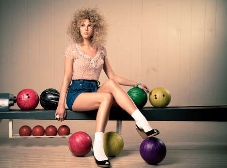Retro Bowling Photography