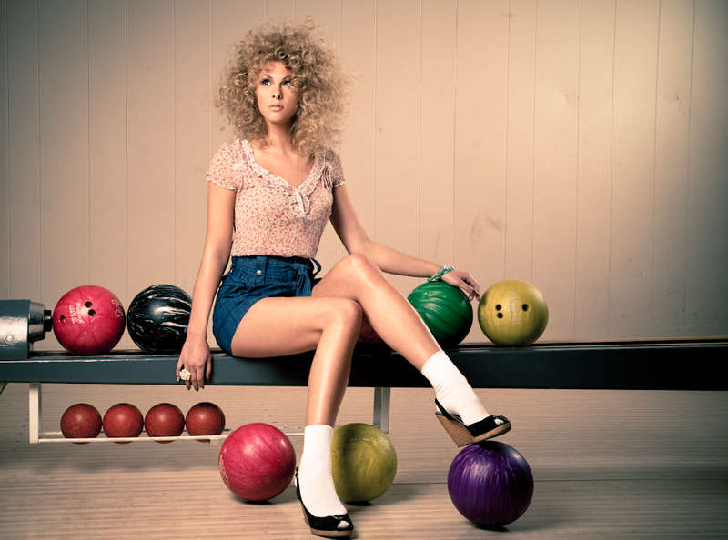 Retro Bowling Photography