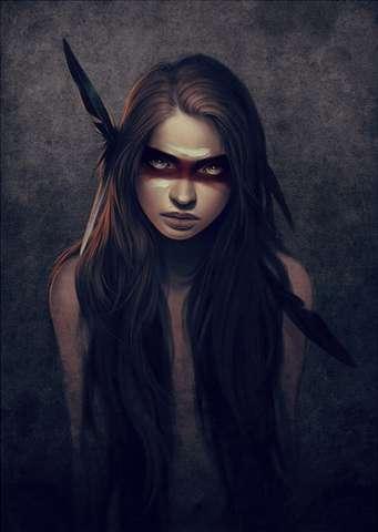 Fantasy Heroine Illustrations