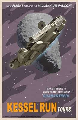 Large Intergalactic Prints