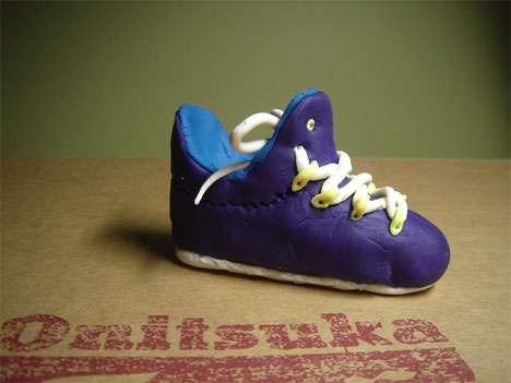 Squishy Shoe Sculptures