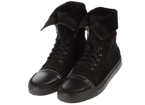 Zippered Luxury High Tops