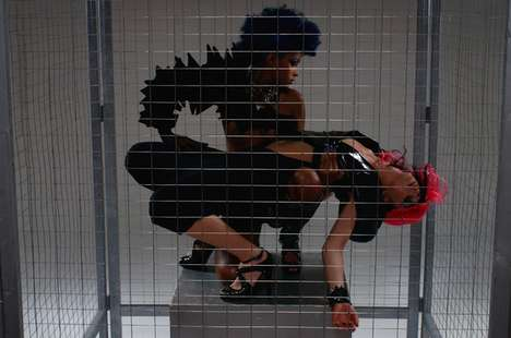 Caged Fighter Frocks