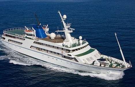 Luxurious Ocean Liners