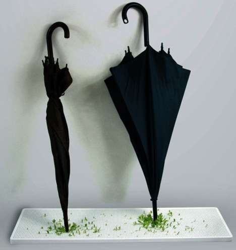 Umbrella-Powered Planters