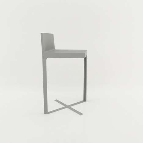 Minimalist Seating Designs - This 'Jane' Chair Creation Stands on Only Two Legs