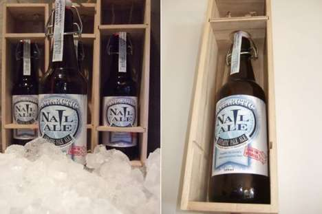 The Limited Edition Antarctica Nail Ale is Pure and Extravagant
