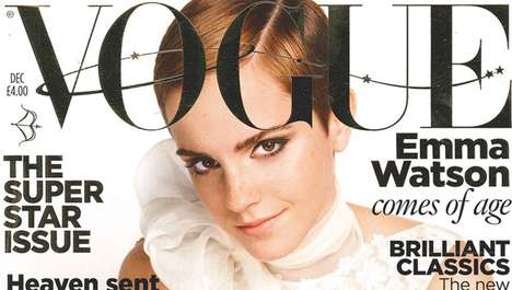 The Emma Watson Vogue UK December 2010 Spread is Elegantly Sophisticated