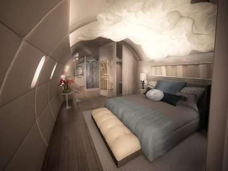 Hip Flying Accommodations - Designer Garry Cohn Makes Traveling Luxurious