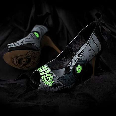 These Iron Fist Monster Shoes May Scare You