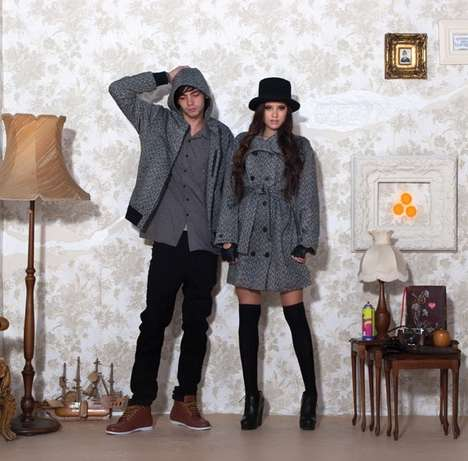 Flirtatious Holiday Lookbooks - Huffer Guides You Through the Joy of Christmas Fashion