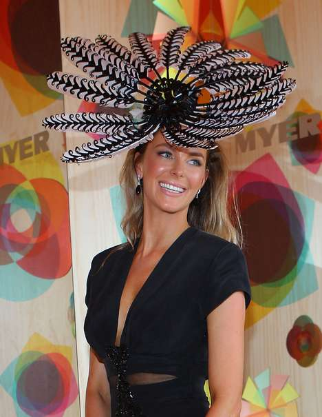 Gigantic Peacock Hats