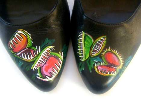 Perilous Painted Pumps