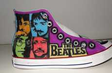 Fab Four Footwear - The Beatles Converse Customization by Christianne Jackson Rocks