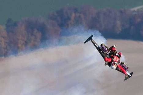 Jet Pack Lake-Jumping