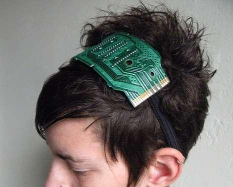 Geeky Computing Headpieces - The Atari Game Headband is for Nerdy Fashionistas