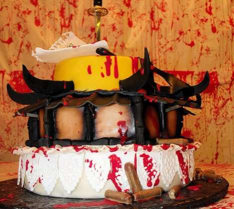 The 'Kill Bill' Cake by Barbarann Garrard is a Gruesome Confection