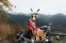 Culturally Attired Bikers