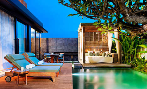 The W Retreat Bali is a Visual Stunner